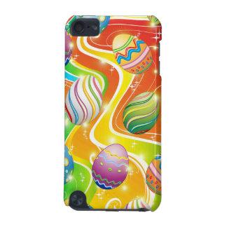ハッピーイースターは装飾用のデザインに卵を投げつけます iPod TOUCH 5G ケース