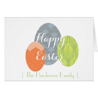 ハッピーイースター|の春|の卵 カード