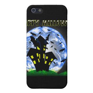 ハッピーハローウィンのお化け屋敷のIpad Speckの場合 iPhone 5 ケース