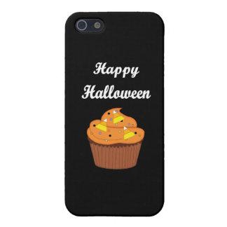 ハッピーハローウィンのカップケーキ iPhone SE/5/5sケース