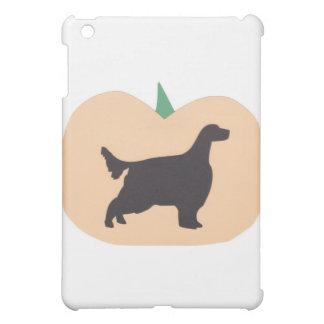 ハッピーハローウィンのカボチャ英国セッター iPad MINIカバー