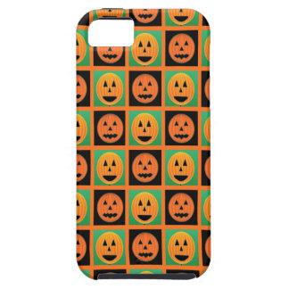 ハッピーハローウィンのカボチャ顔 iPhone SE/5/5s ケース