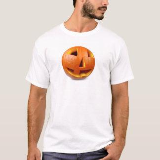 ハッピーハローウィンのカボチャ Tシャツ