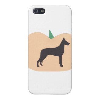ハッピーハローウィンのグレートデーン iPhone SE/5/5sケース