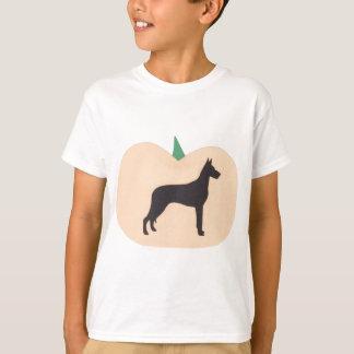 ハッピーハローウィンのグレートデーン Tシャツ