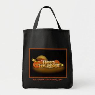 ハッピーハローウィンのトートバック トートバッグ