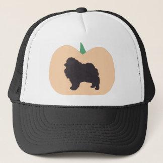 ハッピーハローウィンのポメラニア犬 キャップ