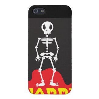 ハッピーハローウィンの骨組 iPhone 5 カバー