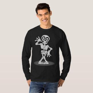 ハッピーハローウィンの骨組 Tシャツ