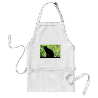 ハッピーハローウィンの黒猫 スタンダードエプロン
