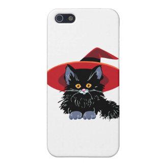 ハッピーハローウィンの黒猫 iPhone SE/5/5sケース
