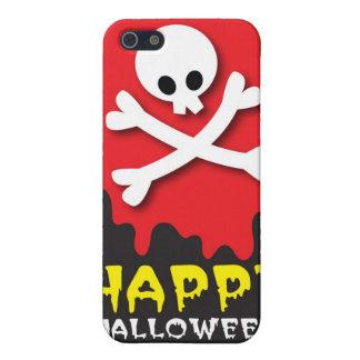 ハッピーハローウィン! どくろ印 iPhone 5 COVER