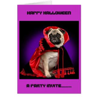 ハッピーハローウィン、パーティーの招待...... カード