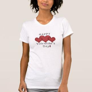 ハッピーバレンタインデーのハートD7のTシャツ Tシャツ