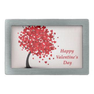 ハッピーバレンタインデーのベルトの留め金 長方形ベルトバックル