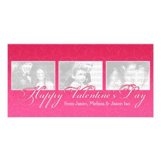 ハッピーバレンタインデーの写真 カード