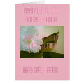 ハッピーバレンタインデーの挨拶状 カード