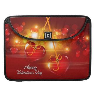 ハッピーバレンタインデー17のMacの本の袖 MacBook Proスリーブ