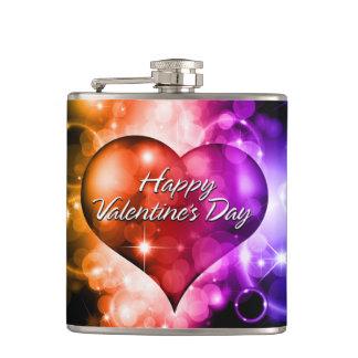 ハッピーバレンタインデー5Aの包まれたなフラスコ フラスク