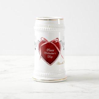 ハッピーバレンタインデー ビールジョッキ