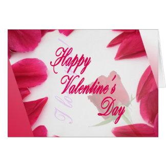 ハッピーバレンタインデー-挨拶状 カード