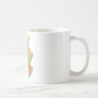 ハッピーバースデーのテディ コーヒーマグカップ
