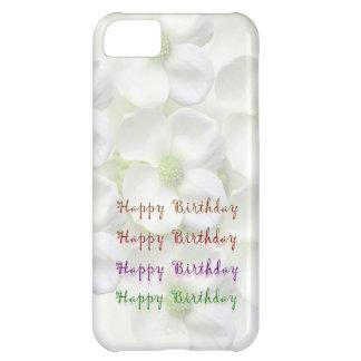 ハッピーバースデーの原稿: Lillyの花の基盤 iPhone5Cケース