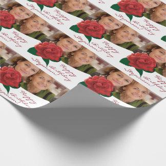ハッピーバースデーの義母の写真の包装紙 ラッピングペーパー