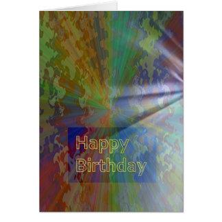 ハッピーバースデーの3月2012日のコレクション グリーティングカード