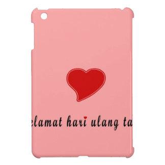 ハッピーバースデーインドネシア iPad MINI カバー