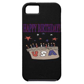 ハッピーバースデー米国 iPhone SE/5/5s ケース