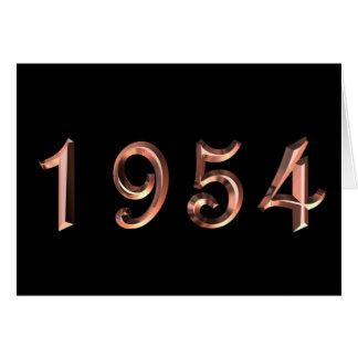ハッピーバースデー50年代50sの五十年代1954生年 カード