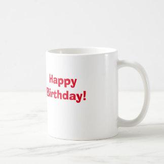 ハッピーバースデー! コーヒーマグカップ