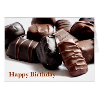 ハッピーバースデー!! チョコレート挨拶状#3 3300 カード