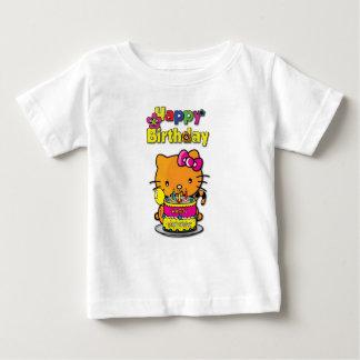 ハッピーバースデー ベビーTシャツ