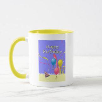 ハッピーバースデー マグカップ