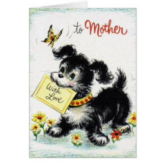 ハッピーバースデー-母 グリーティングカード