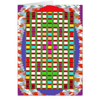 ハッピーバースデー: 金ゴールドの赤の芸術的な色の陰 カード