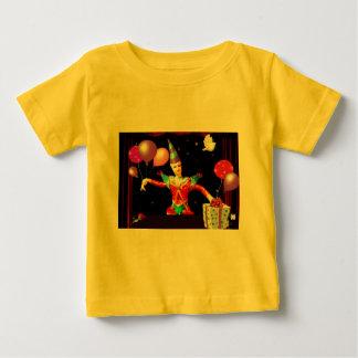 ハッピーバースデーclown1 ベビーTシャツ