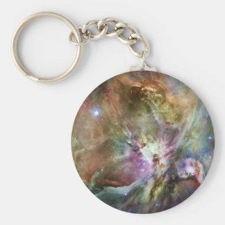 ハッブルおよびSpitzerからのオリオンの星雲の構成 キーホルダー