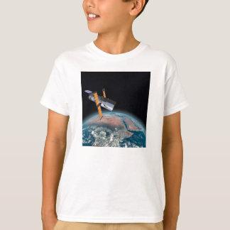 ハッブル宇宙望遠鏡の暗い天文学のTシャツ Tシャツ