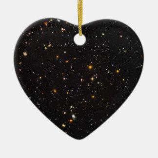 ハッブル10,000の銀河系の超深い分野の眺め セラミックオーナメント