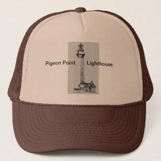 ハトポイント灯台トラック運転手の帽子 キャップ
