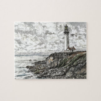 ハトポイント灯台 ジグソーパズル