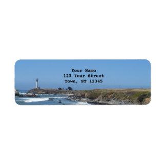 ハトポイント灯台 ラベル