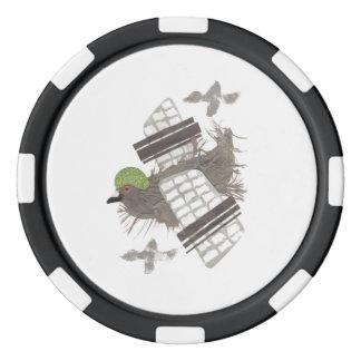 ハト平らなポーカー用のチップ ポーカーチップ