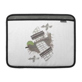 ハト平らなMacbookの空気袖 MacBook スリーブ