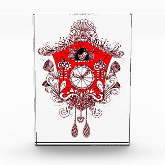 ハト時計 表彰盾