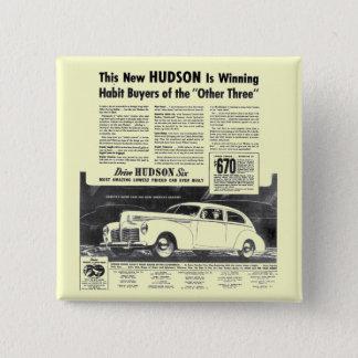 ハドソンの新しい1940年の自動車 5.1CM 正方形バッジ