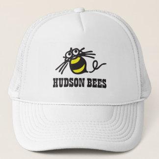 ハドソンの蜂の野球帽(白い) キャップ